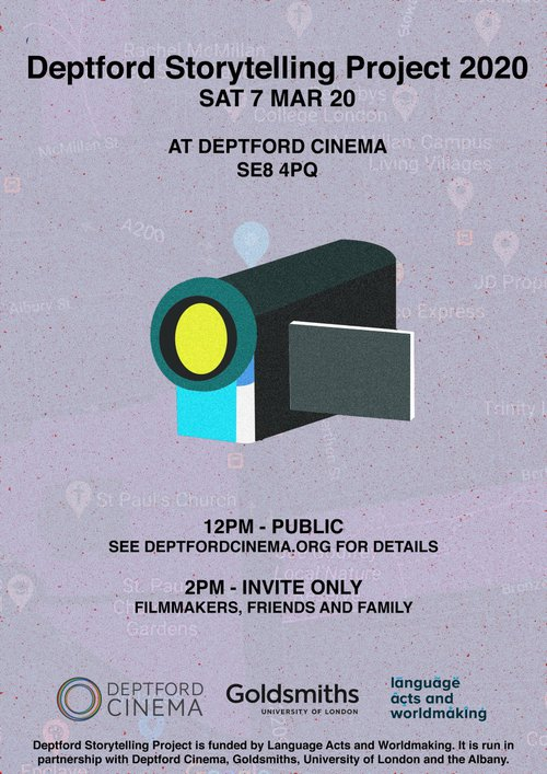 Deptford Storytelling Project 2020 Screening