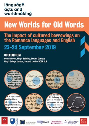 New Worlds for Old Words poster