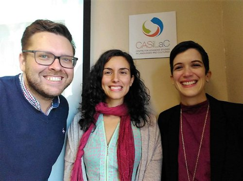 The Project DaRT team: Craig Neville, Laura Linares, and Estefanía Muñoz Gómez